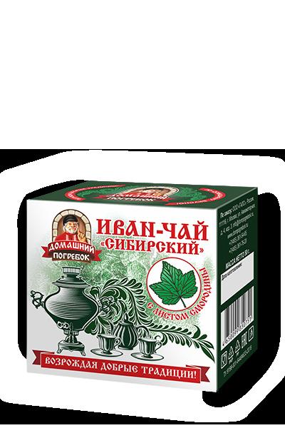 """Иван-чай """"Сибирский"""" с листом смородины"""