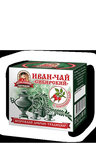 """Иван-чай """"Сибирский"""" шиповником"""