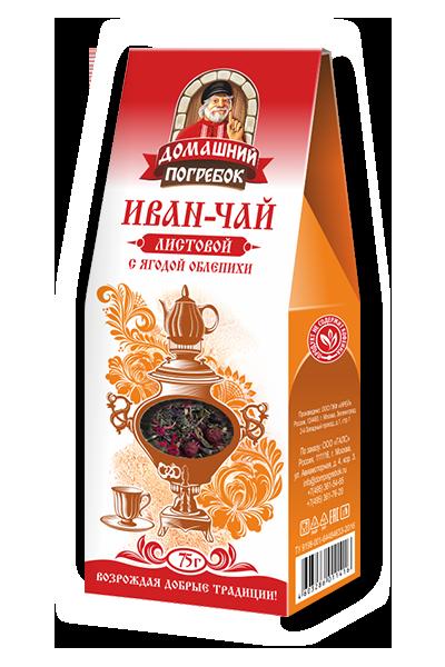 Иван-чай листовой c ягодой облепихи