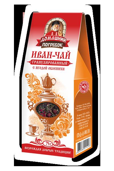 Иван-чай гранулированный с ягодой облепихи